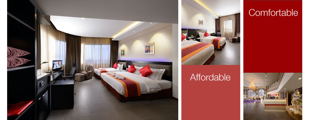 e red hotel was conceptualized with a very simple philosophical idea in meeting the needs of our guests for a value for money hotel for business and leisure